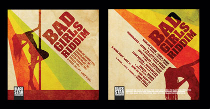 Bad Girls riddim CD-cover
