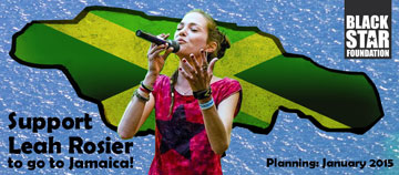 Support Leah Rosier to go to Jamaica!